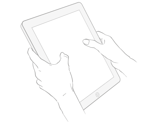 ipad double hands