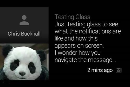 北京网站建设资讯 - Google Glass日常交互体验 - (7)